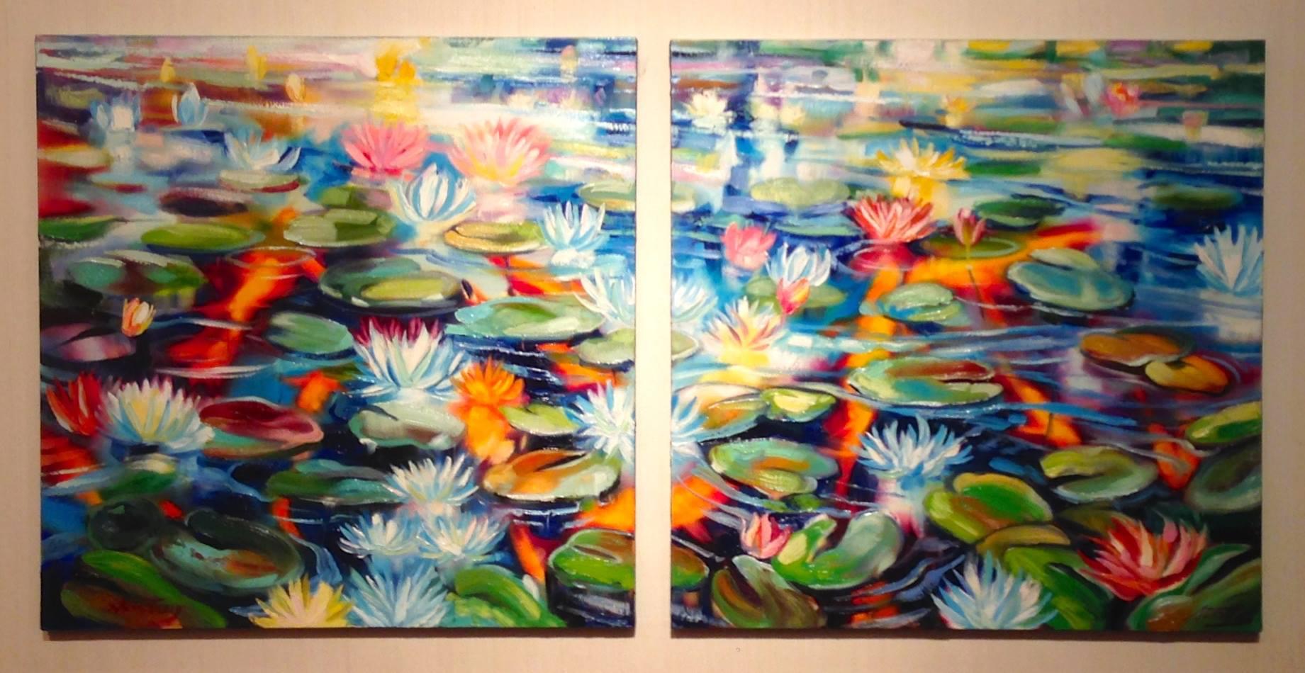 """""""Koi Pond"""" by Steve Tracy"""