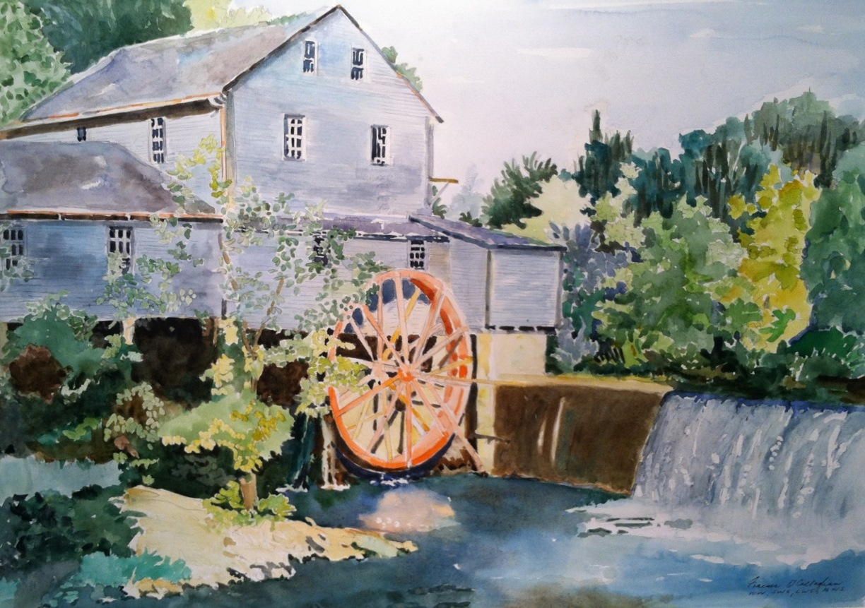 """""""Old Mill"""" by Frances O'Callaghan"""