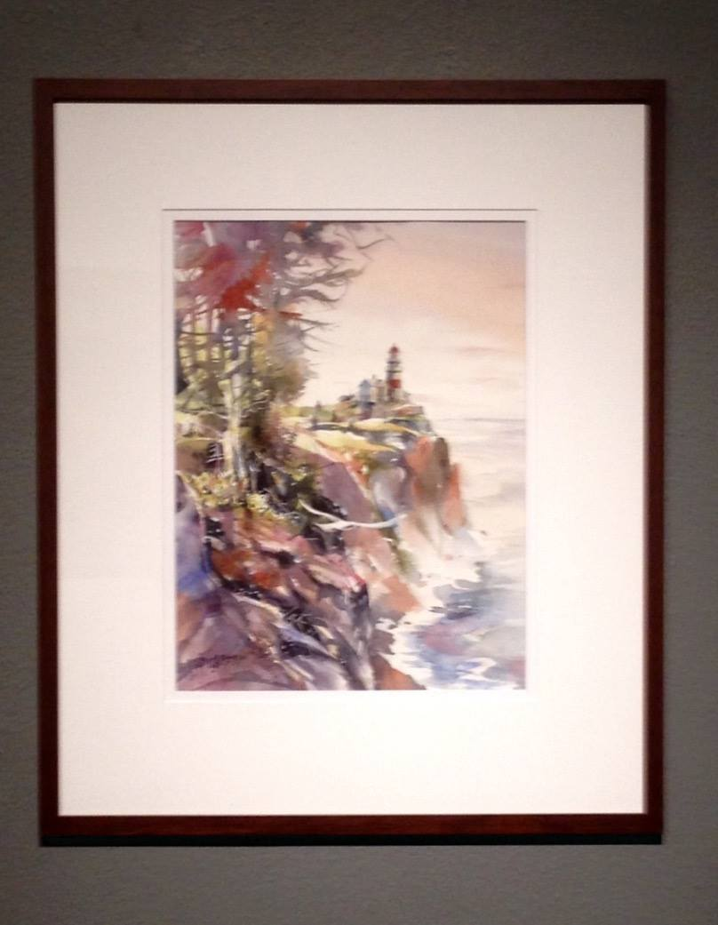 """""""Beacon to the West"""" by Jim Huckabay"""
