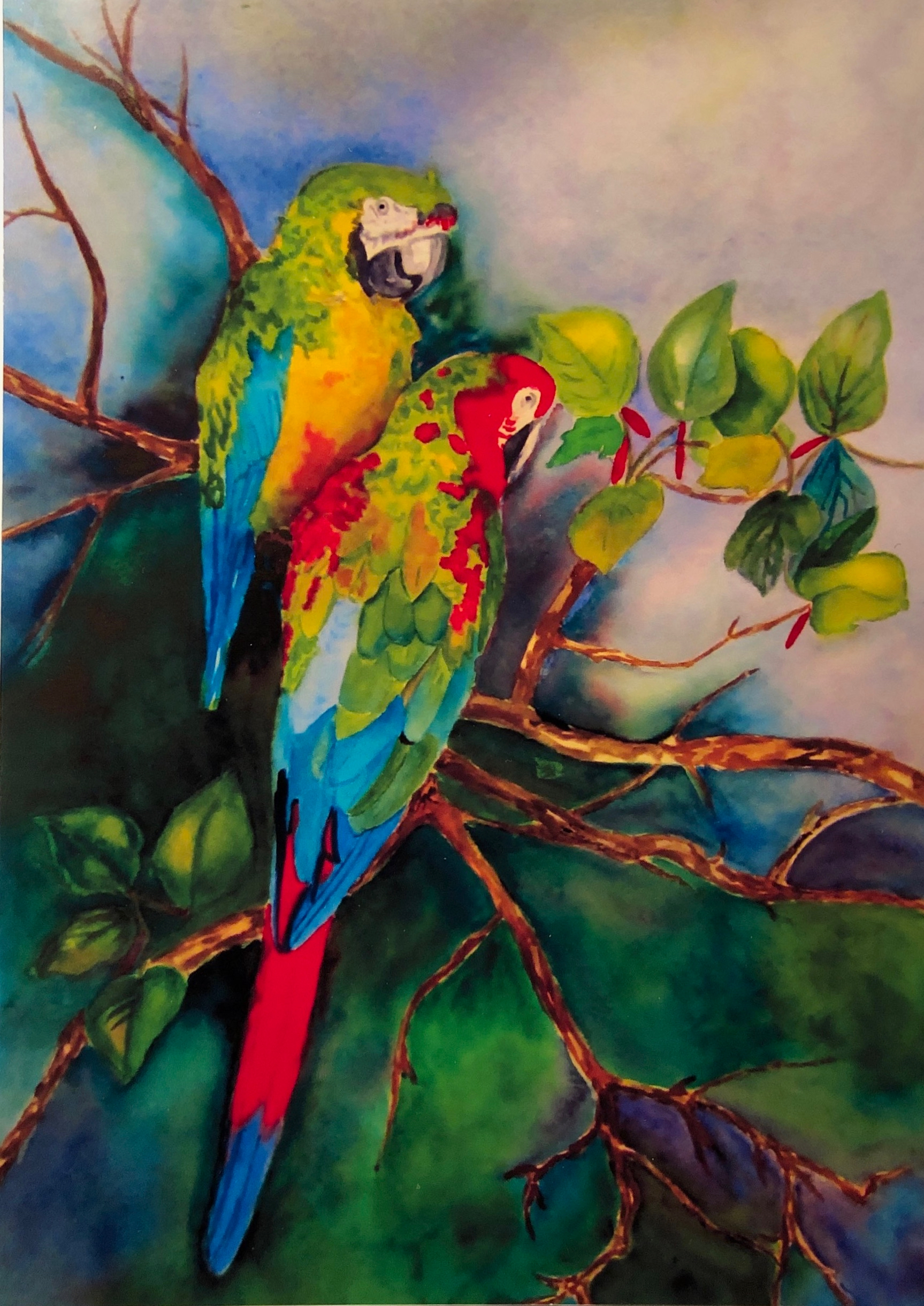 """Moody Garden McCaws"" by Lynette Bagley"