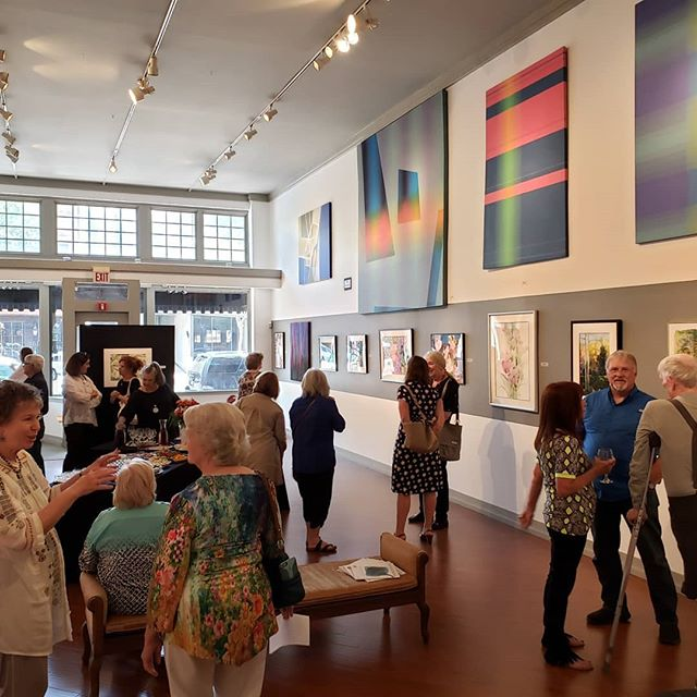 Don't forget to visit us and see the Hoover Watercolor Society spring exhibit tomorrow (Saturday) 12-4:30! This is your last chance before the show travels to the Michelson Museum of Art in Marshall, TX. Check out works by our Represented Artists while you're here, too! #collectart #fineart @norsworthygallery #cooldowntown #artgallery #shreveport #louisiana