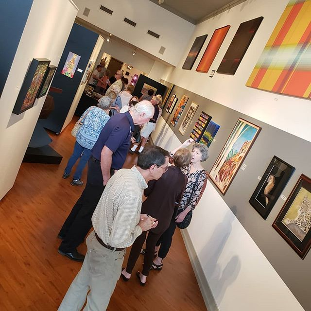 We're so glad to see everyone at the reception for Louisiana Artists, Inc. today! Come join us before 4 pm! #collectart #fineart @norsworthygallery #cooldowntown #artgallery #shreveport #louisiana