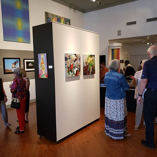 What a great afternoon with Louisiana Artists, Inc.! The show continues this month, and we're open Tuesday, Thursday, Friday 1-5:30 and Saturday 12-4:30. If you're interested in any pieces pictured here, please come by or call us! 318-424-6764 #collectart #fineart @norsworthygallery #cooldowntown #artgallery #shreveport #louisiana #shopsmall #supportlocal