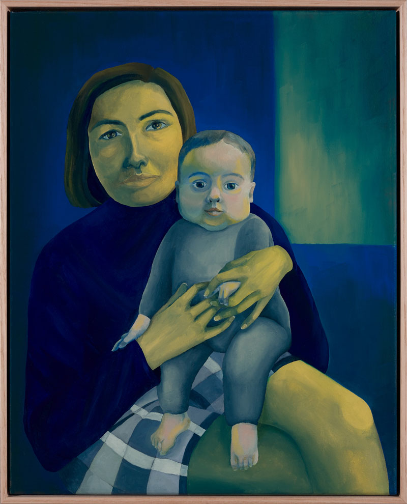 Kate & Millie , 2019   40x50 cm, oil on canvas