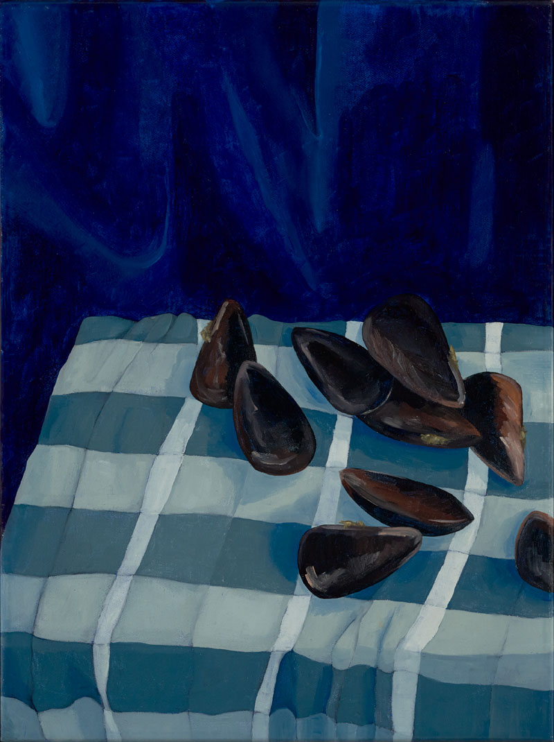 Mussels , 2019  30 x 40 cm, oil on canvas