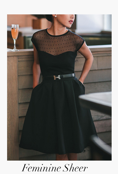 8 Little Black Dresses with Alexandra de Curtis