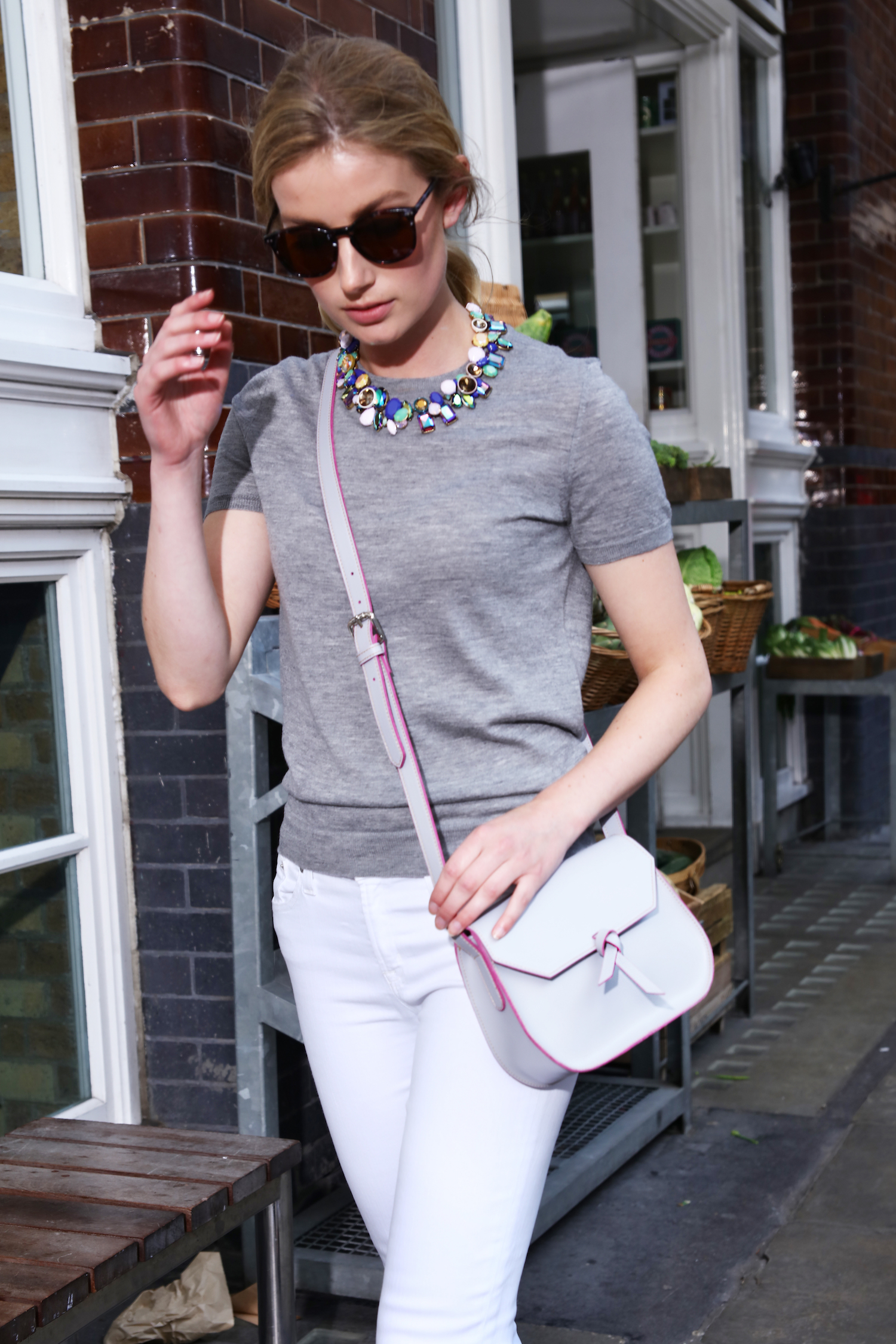 Alexandra de Curtis | Grey Mini Saddle