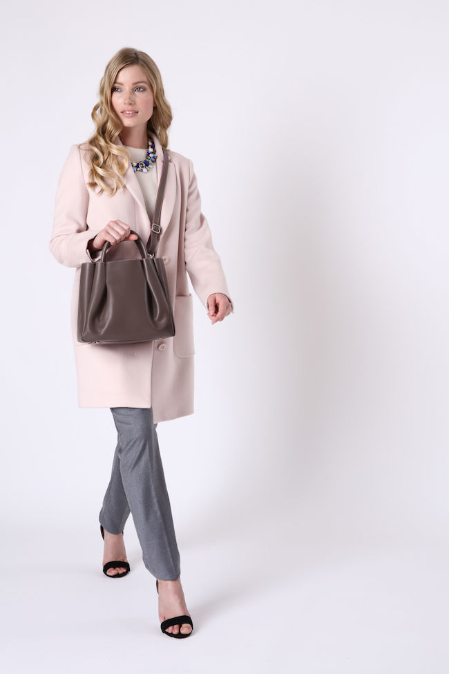 Alexandra de Curtis_Midi Ruched Tote Taupe strap.jpg