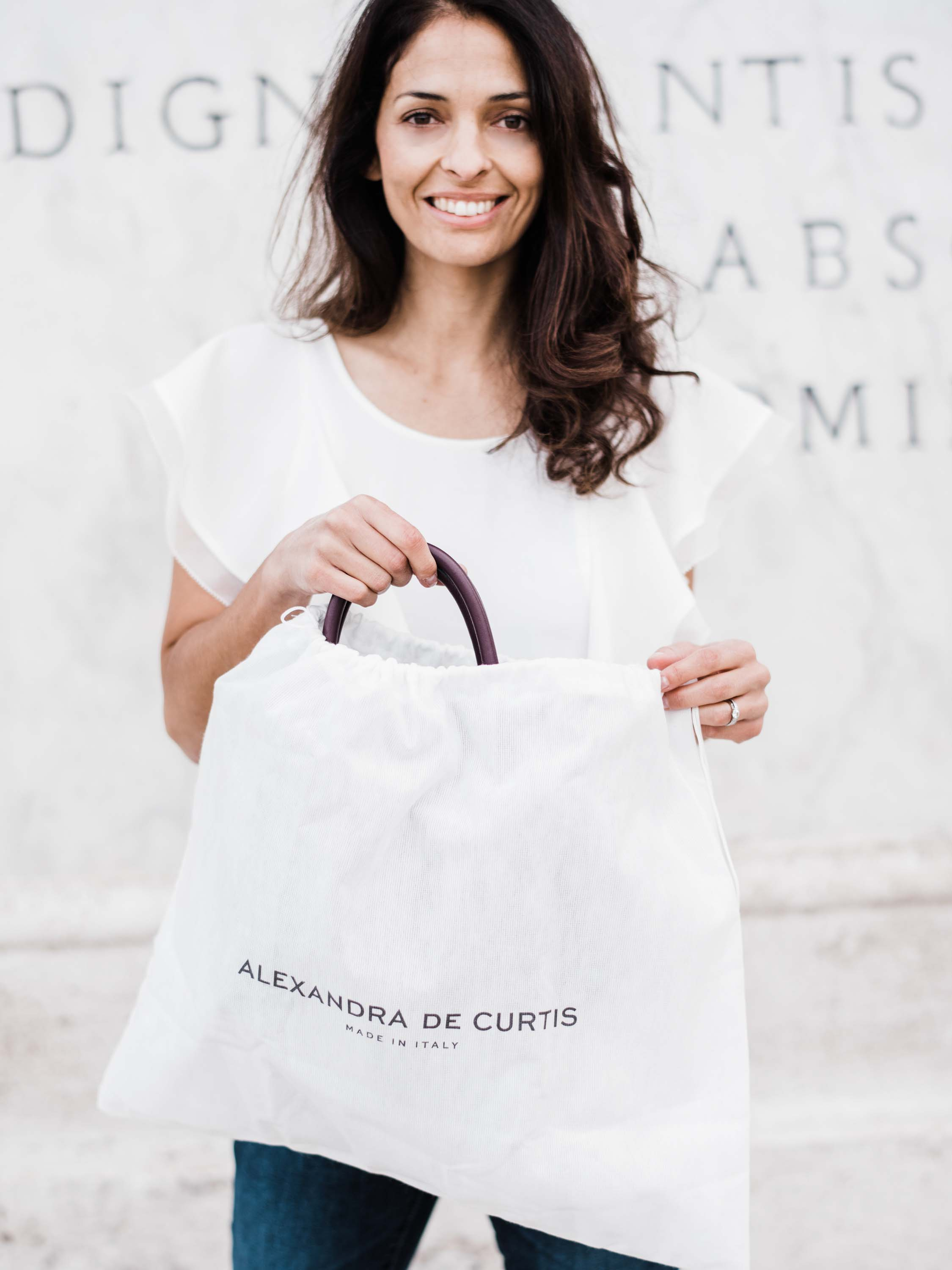 Alexandra de Curtis Meet the Designer Handbags
