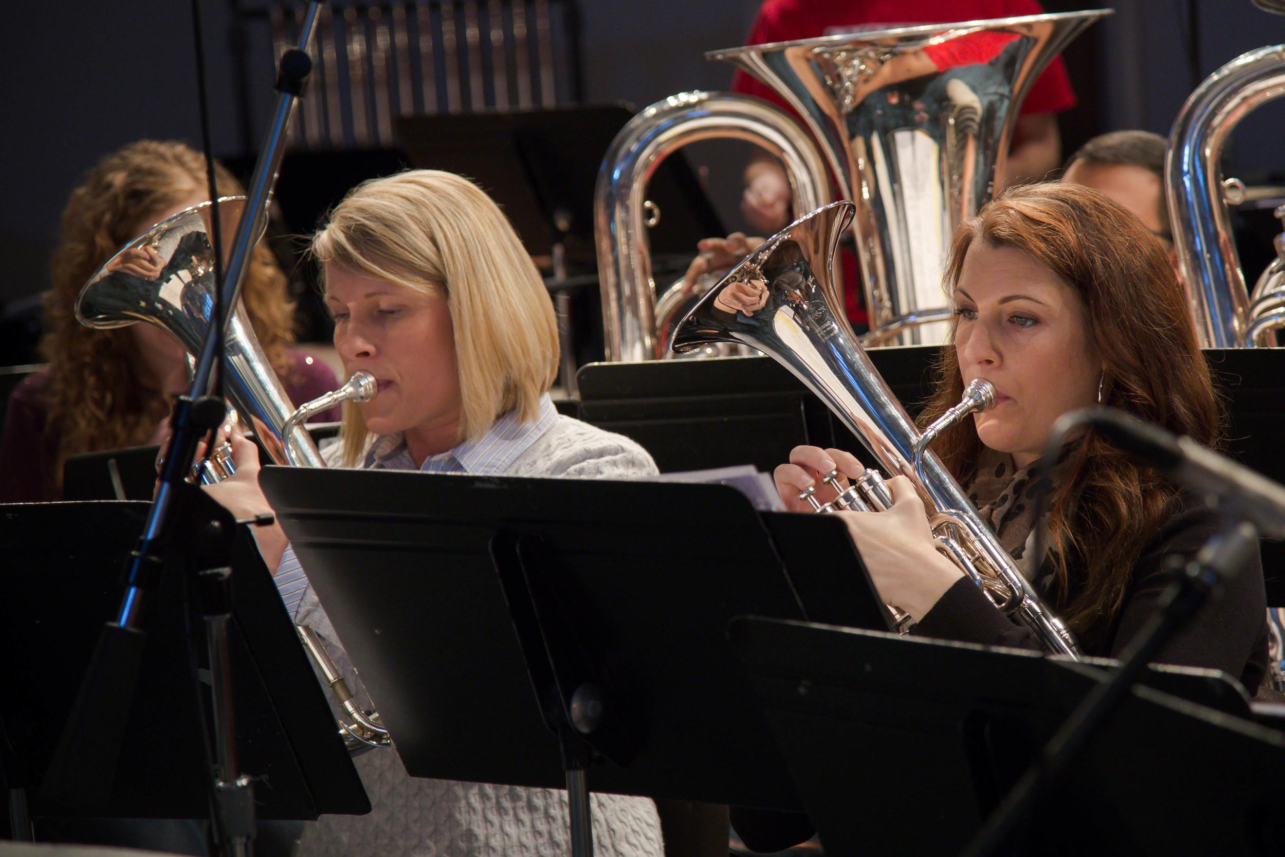 Horns: Connie Barrington, Hillary Esquivel
