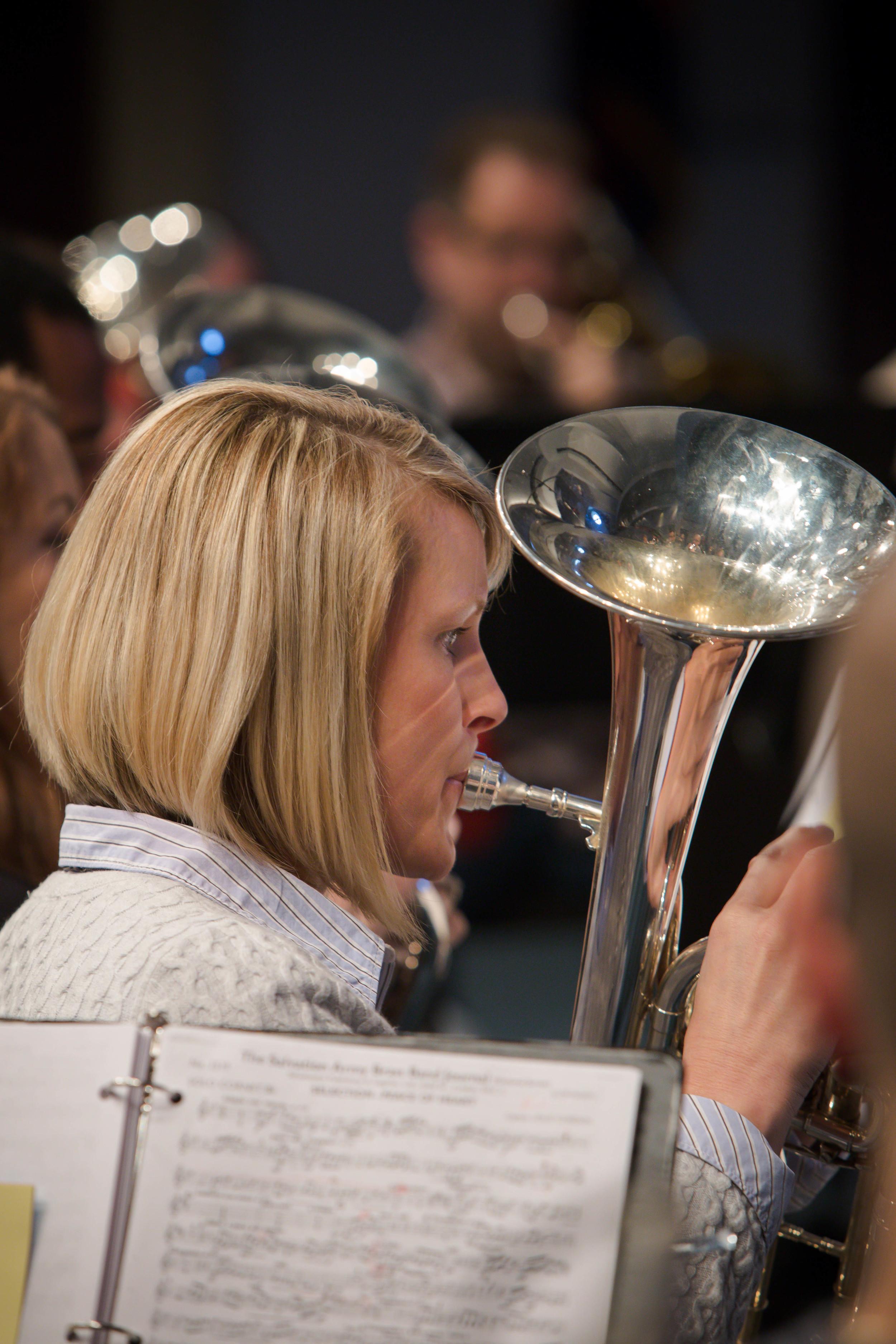 Principal horn Connie Barrington