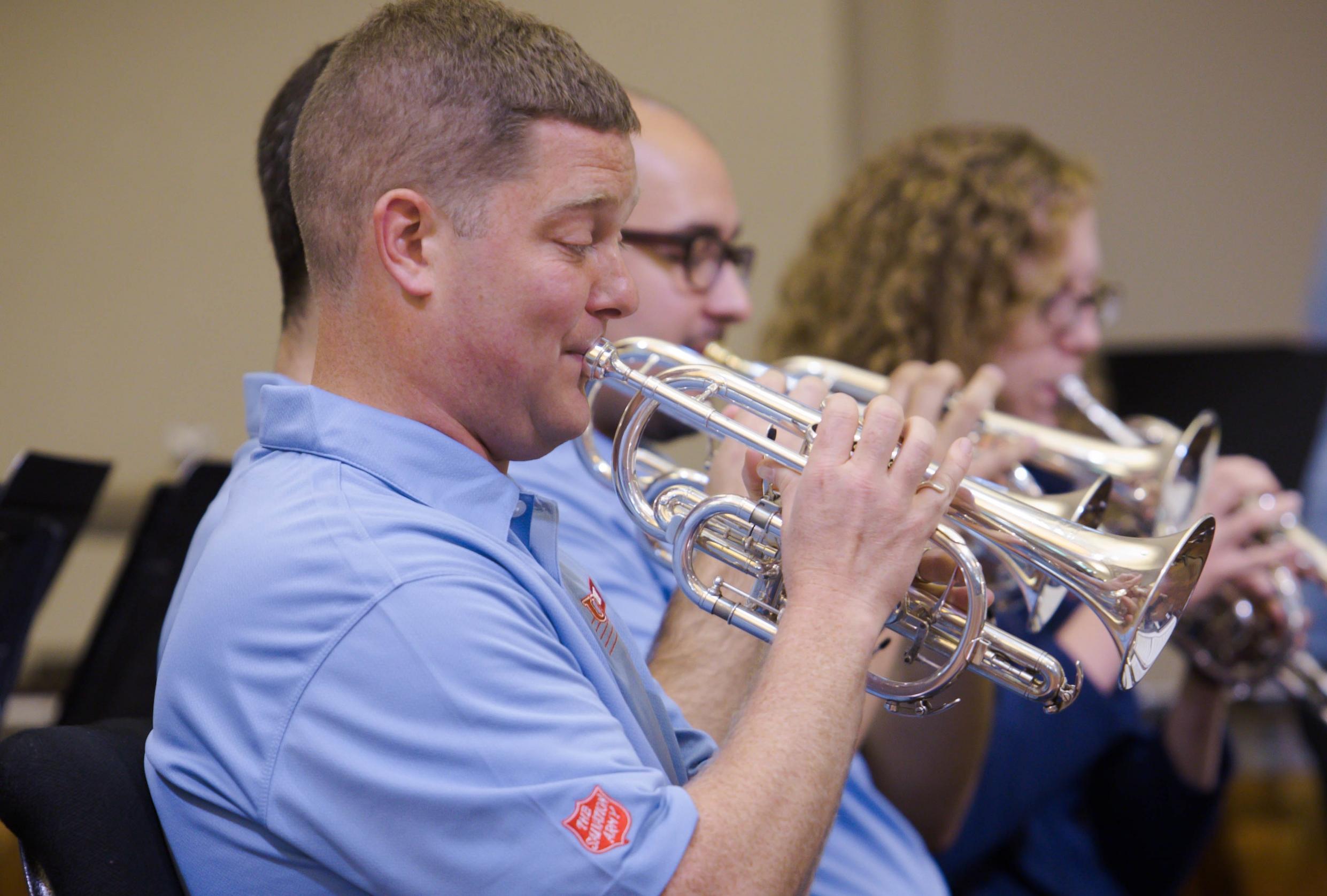 Principal cornet Jeffrey Barrington