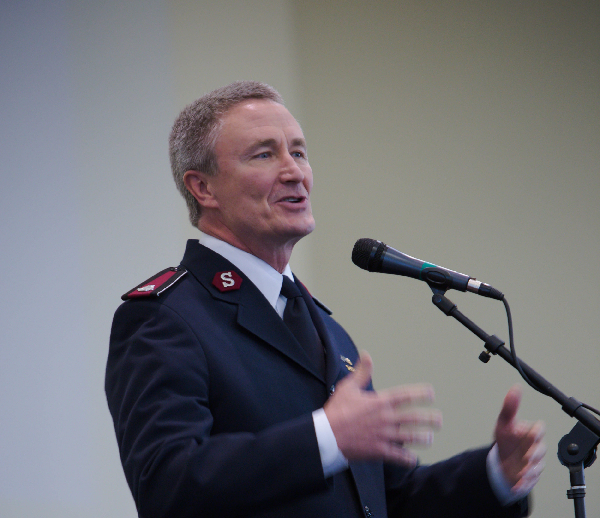 Executive Officer Lt. Colonel William Mockabee