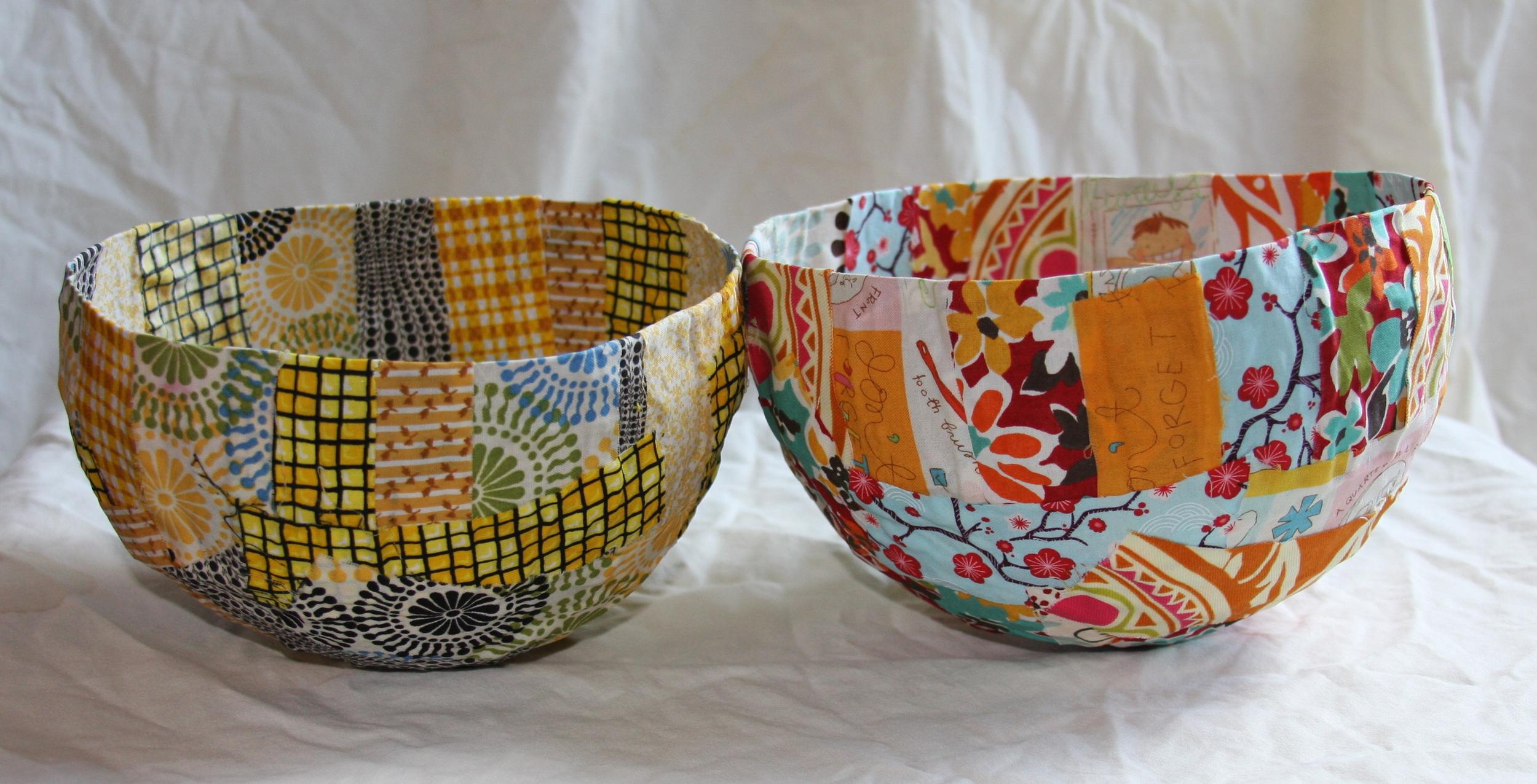 Fabric Bowls Christine Peloquin