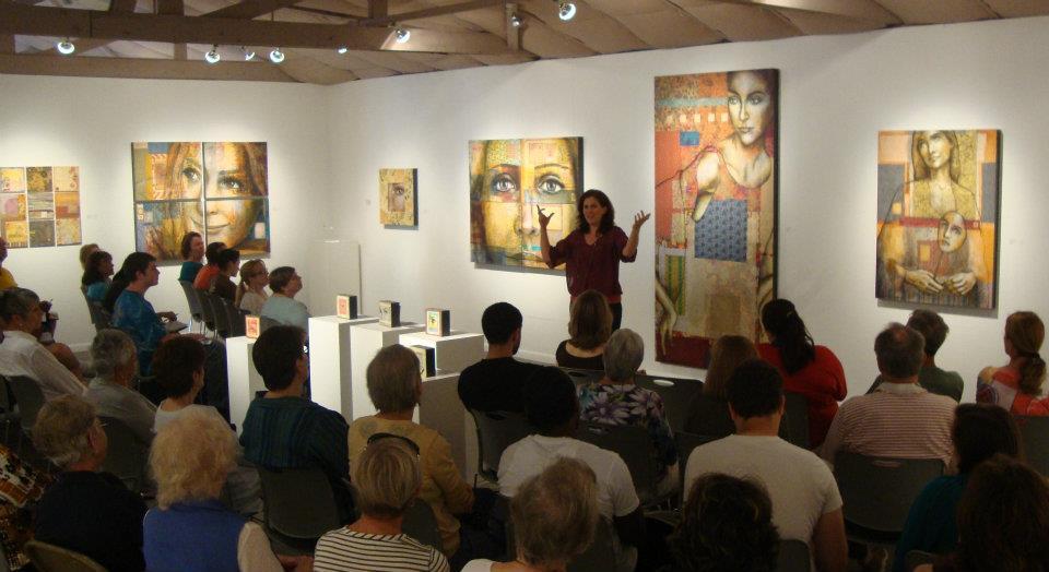 Artist's Talk at Arts on Douglas Gallery