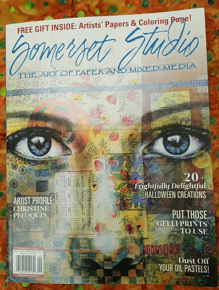 Click  HERE  to purchase a copy!     #somersetstudio
