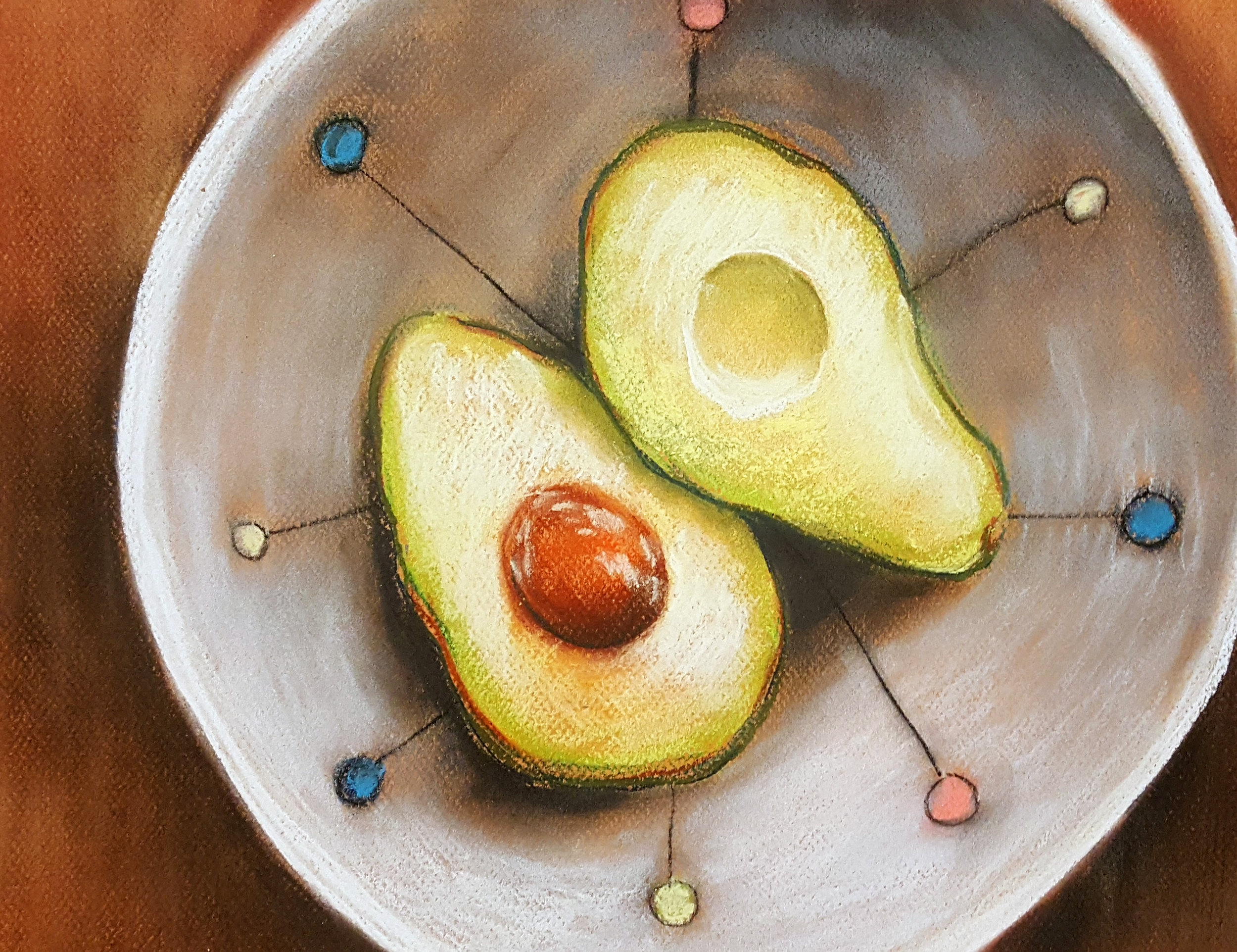 My Avocados and Favorite Bowl