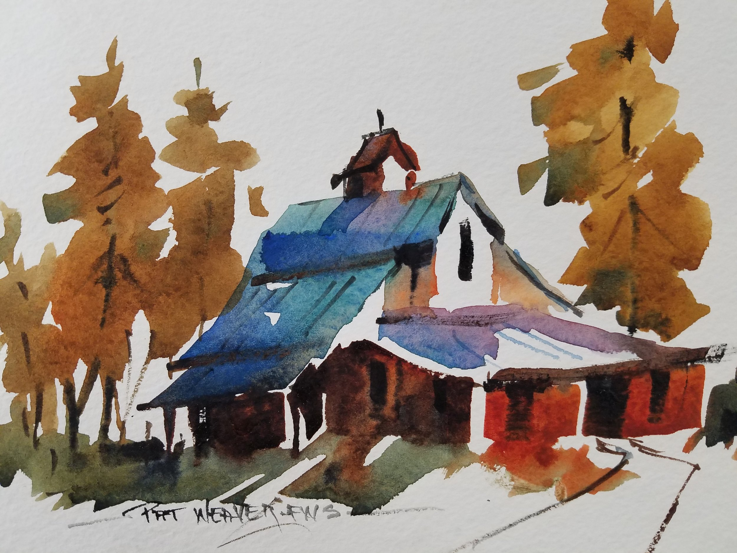 Pat Weaver's Red Barn