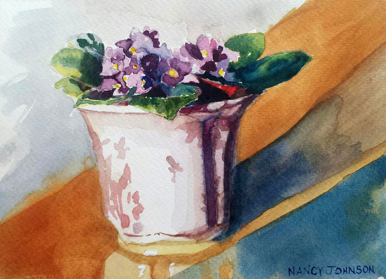 Nancy Johnson's Violets