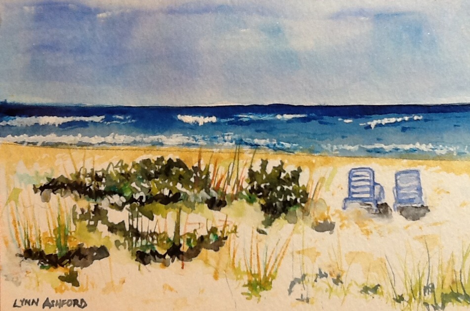 Lynn Ashford's Longing For the Beach