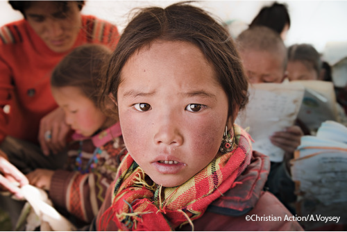 6 primary schools have been built in Qinghai. 1,700 children attend our schools each year