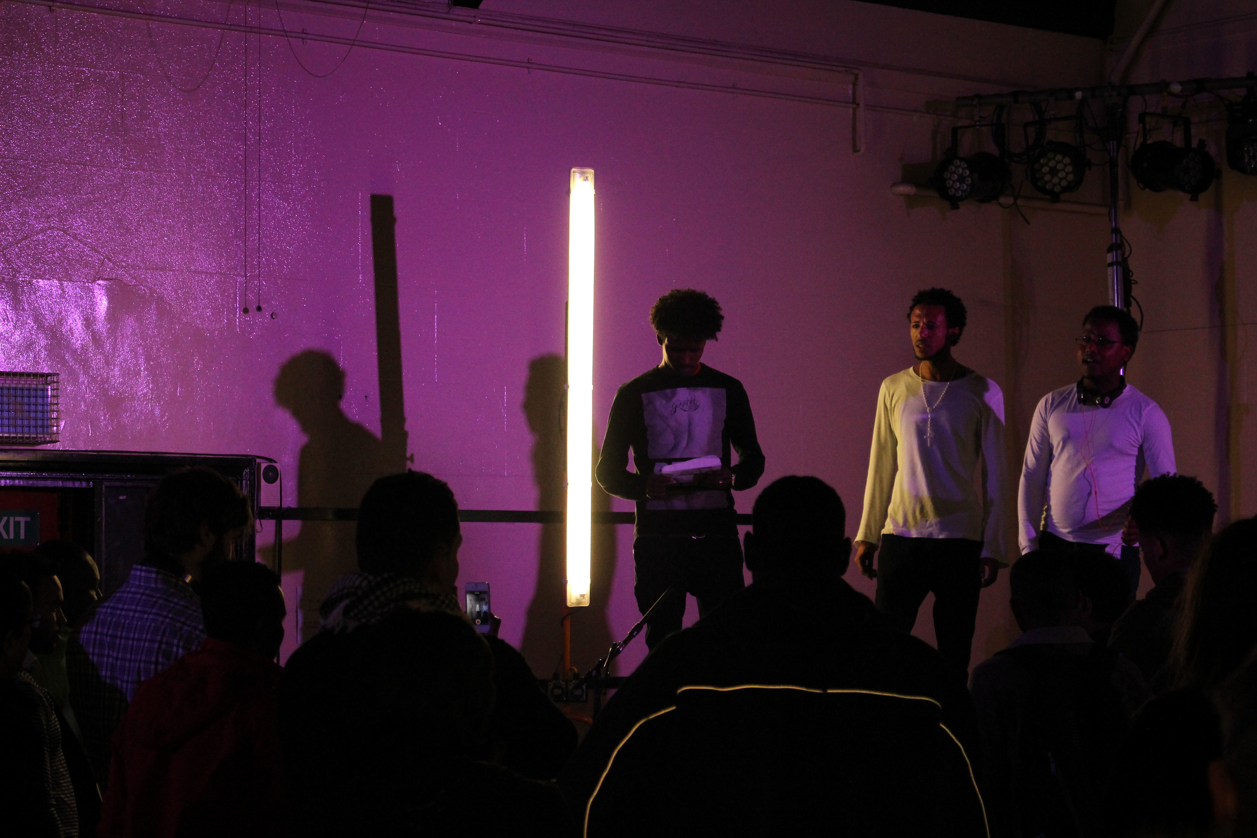 A beautiful performance telling the story of their journey from Eritrea