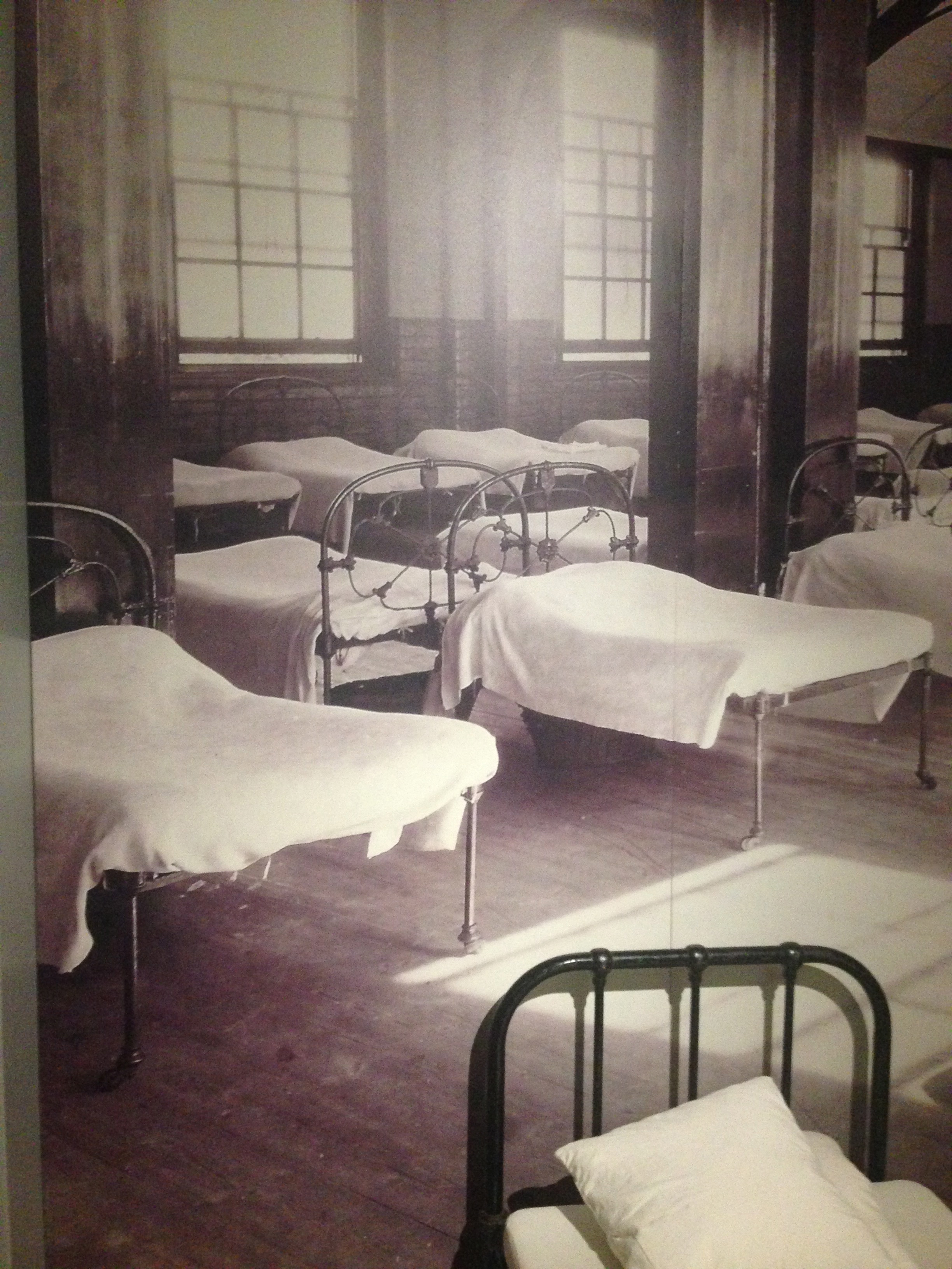 Pictures of the Foundling dorms brought back memories of my Scottish boarding school (my choice to go, and I loved it)