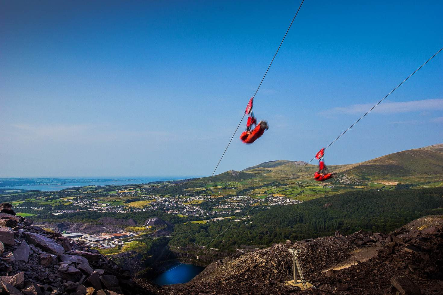 Zip World Velocity @ Penrhyn Quarry, Bethesda