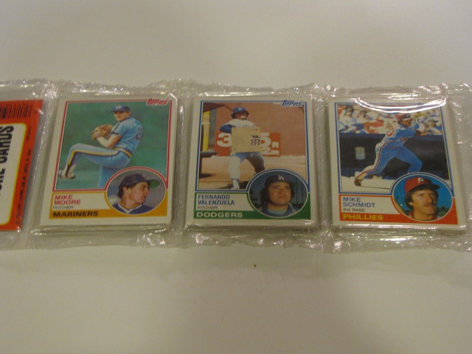 You remember going through these to see if any good cards were on top. You also remember when Fernando Valenzuela was a thing.