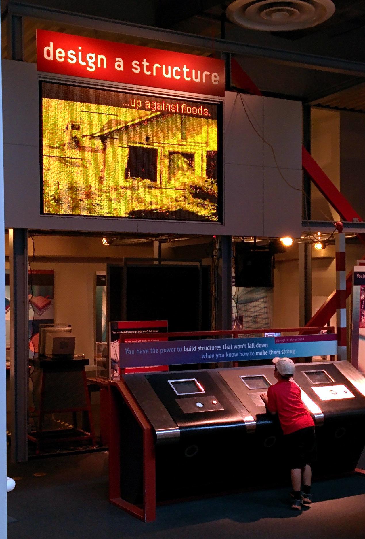 California Science Center Design a structure exhibit