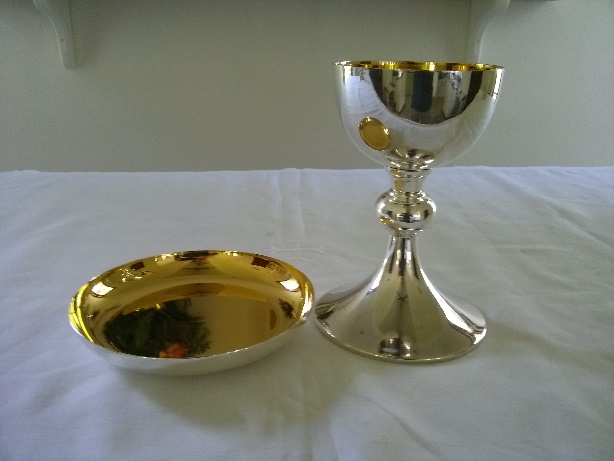 Communion Patten and Chalice