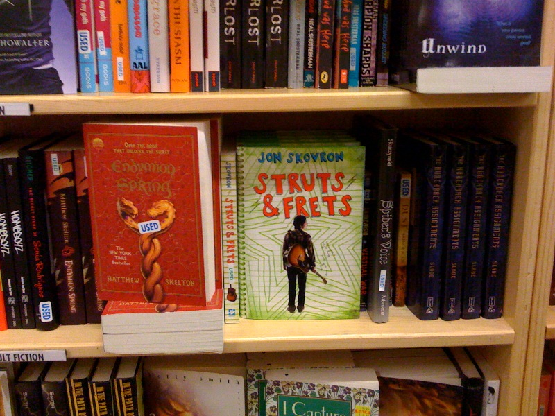 Photo taken of Struts & Frets in the wild at Powell's Bookstore in Portland (one of the co