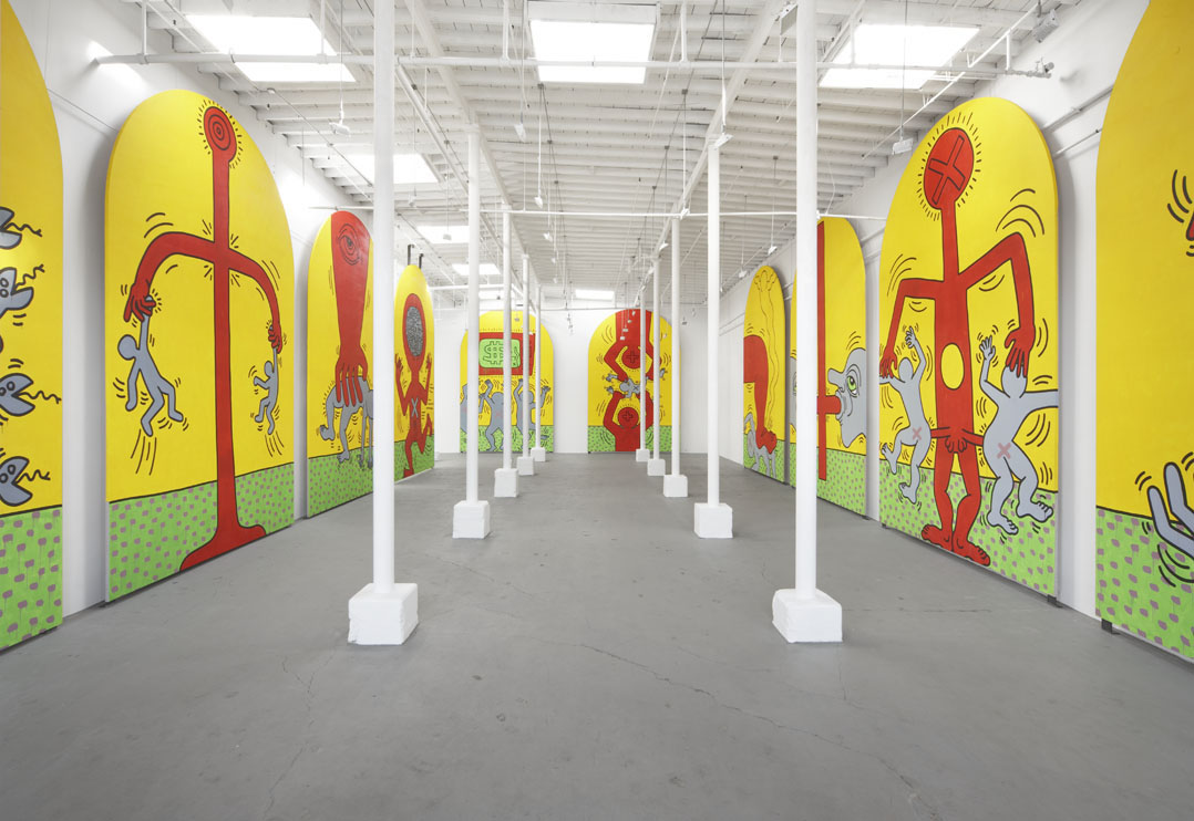 Keith Haring, Deitch Projects