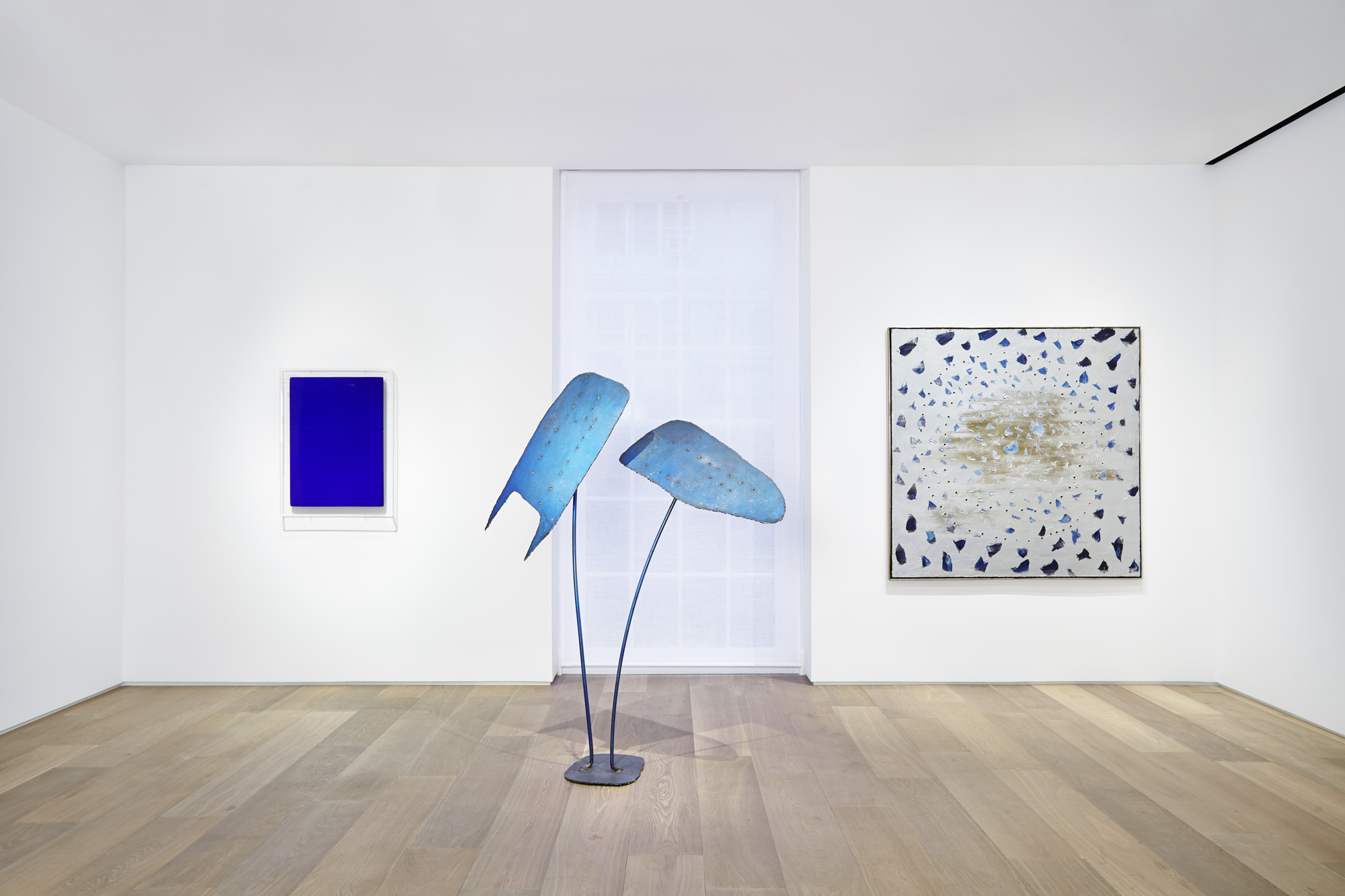 Yves Klein, Lucio Fontana, Cy Twombly, Dominique Levy Gallery