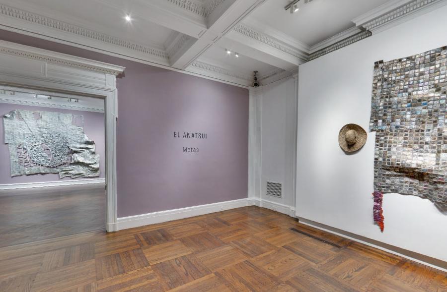 El Anatsui:  Metas , Mnuchin Gallery, New York, 2014