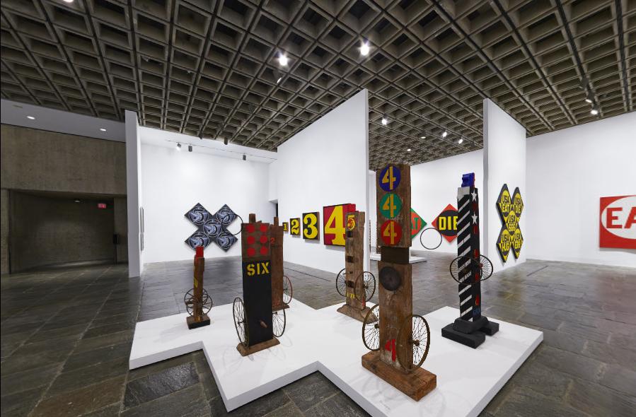Robert Indiana:  Beyond Love ,Whitney Museum of American Art, 2013-2014