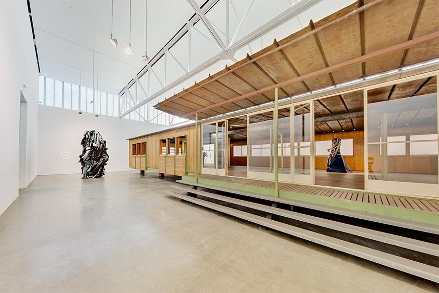 Chamberlain | Prouvé, Gagosian Gallery, 2015