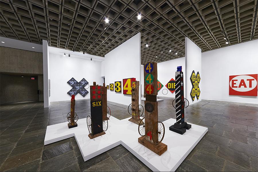 Robert Indiana,  Beyond Love , Whitney Museum of American Art, 2014