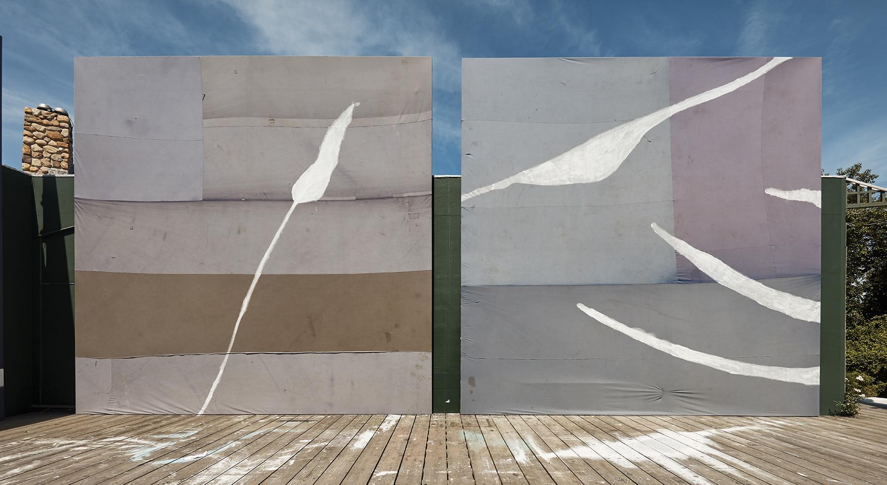 Julian Schnabel's Studio
