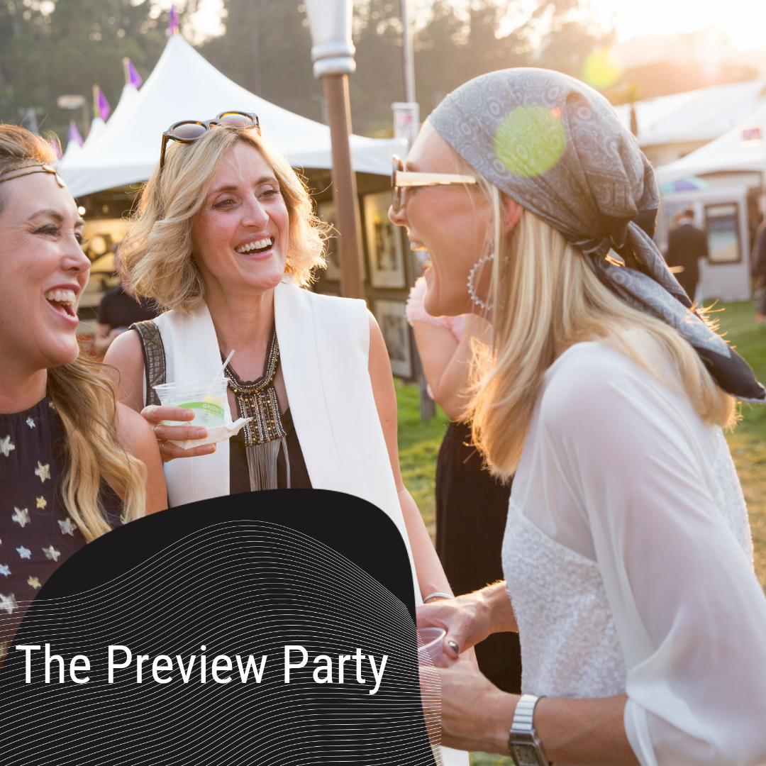 Lets get this Festival started - Join us for the biggest art party of the season, the Preview Party.Mix with 260 artists from around the world. Enjoy an open bar and catered appetizers. Be amazed by live art performances, art tech, music and more.Tickets on sale June 1.