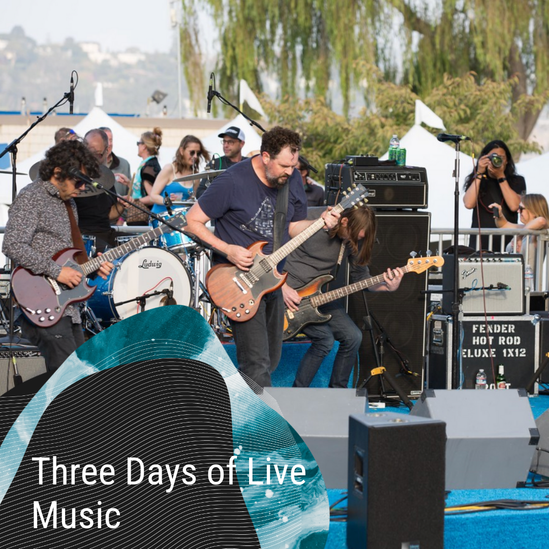 3 days, 2 stages, 19 bands, 1 festival - Experience three days of live music on the beautiful Sausalito waterfront. From national headliners to your favorite cover bands this lineup has something for every music lover.Tickets on sale June 1.