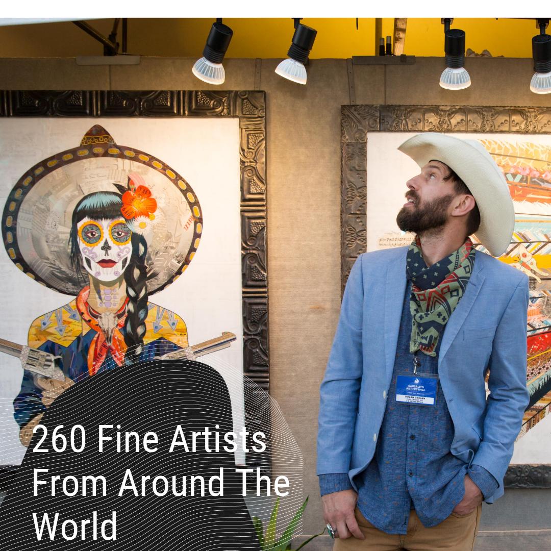 260 Fine Artists