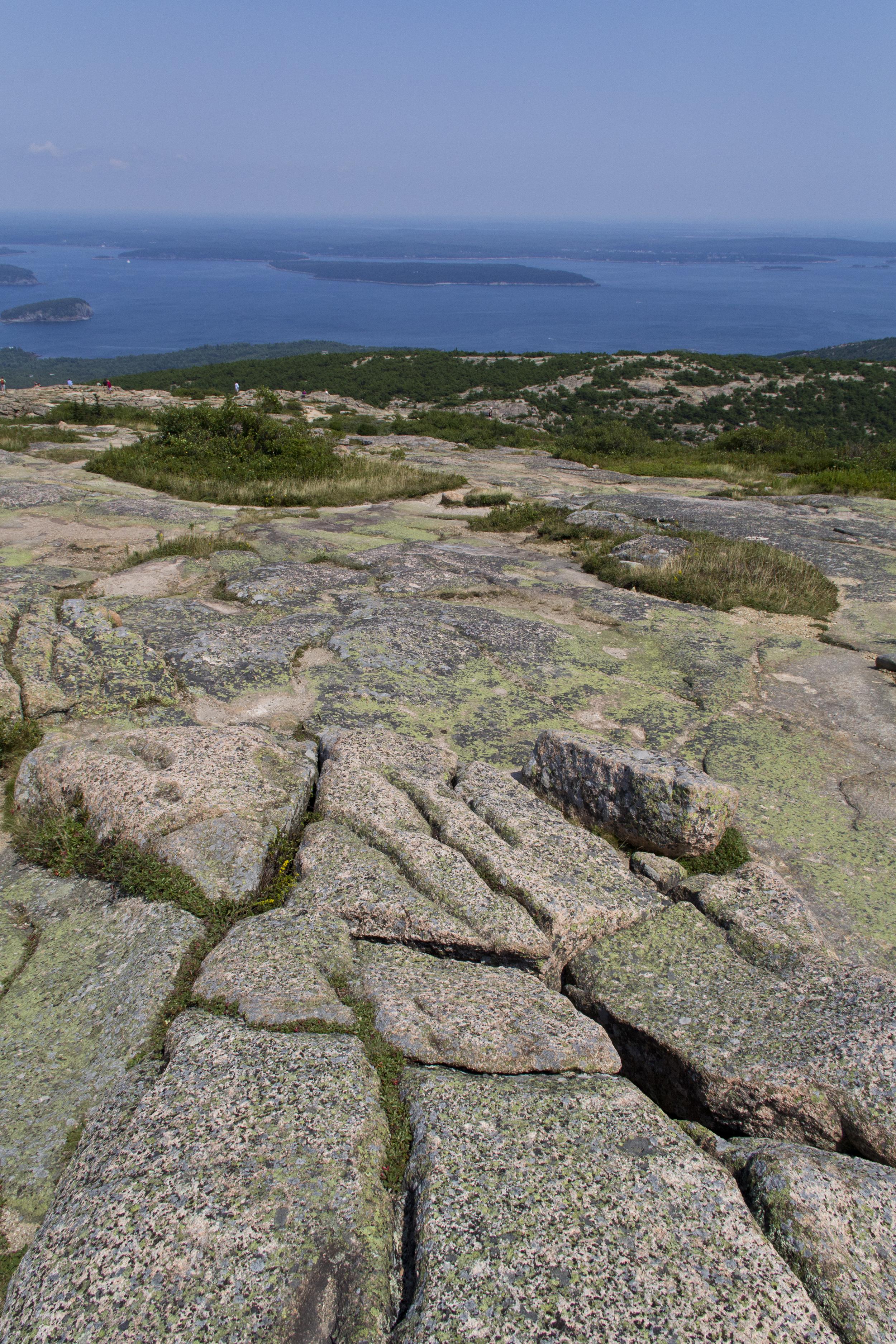 Summit of Cadillac Mountain - Acadia National Park
