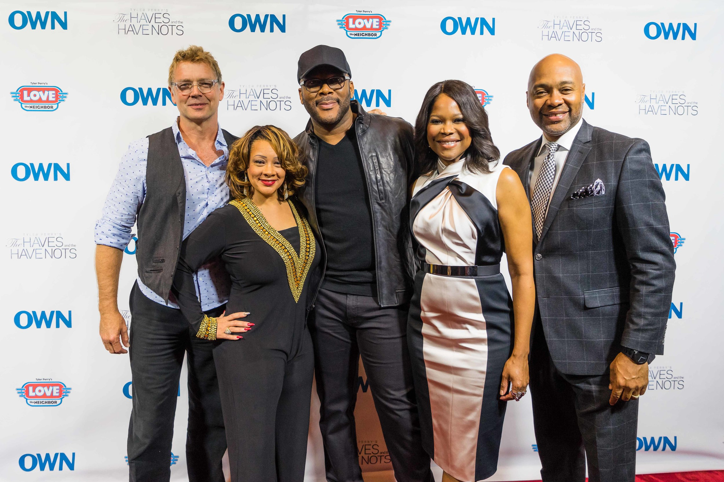 Commissioned by OWN to cover Tyler Perry's two new series in 2016