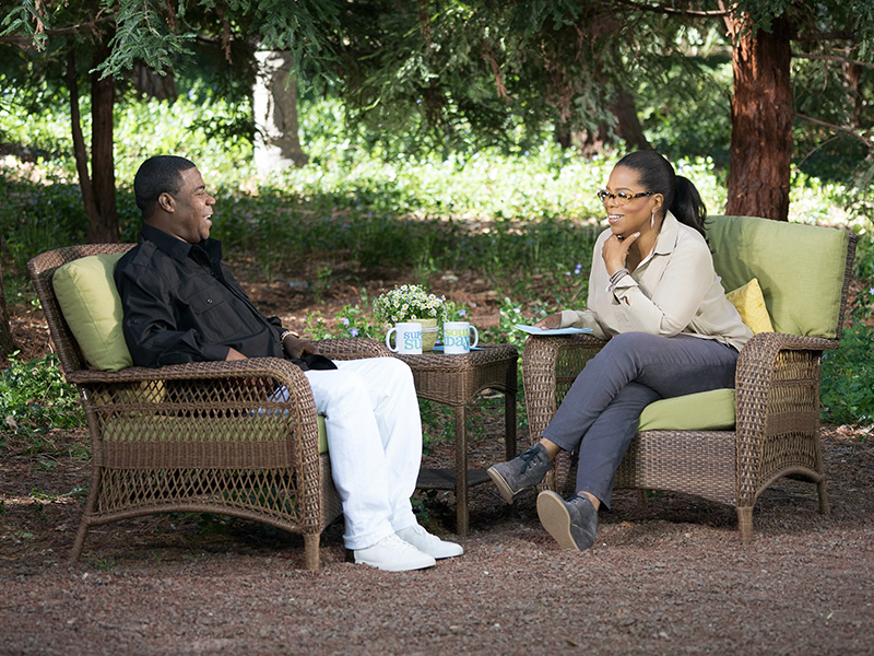 Commissioned to photograph Ms Winfrey and Tracy Morgan interview for Super Soul Sunday new season
