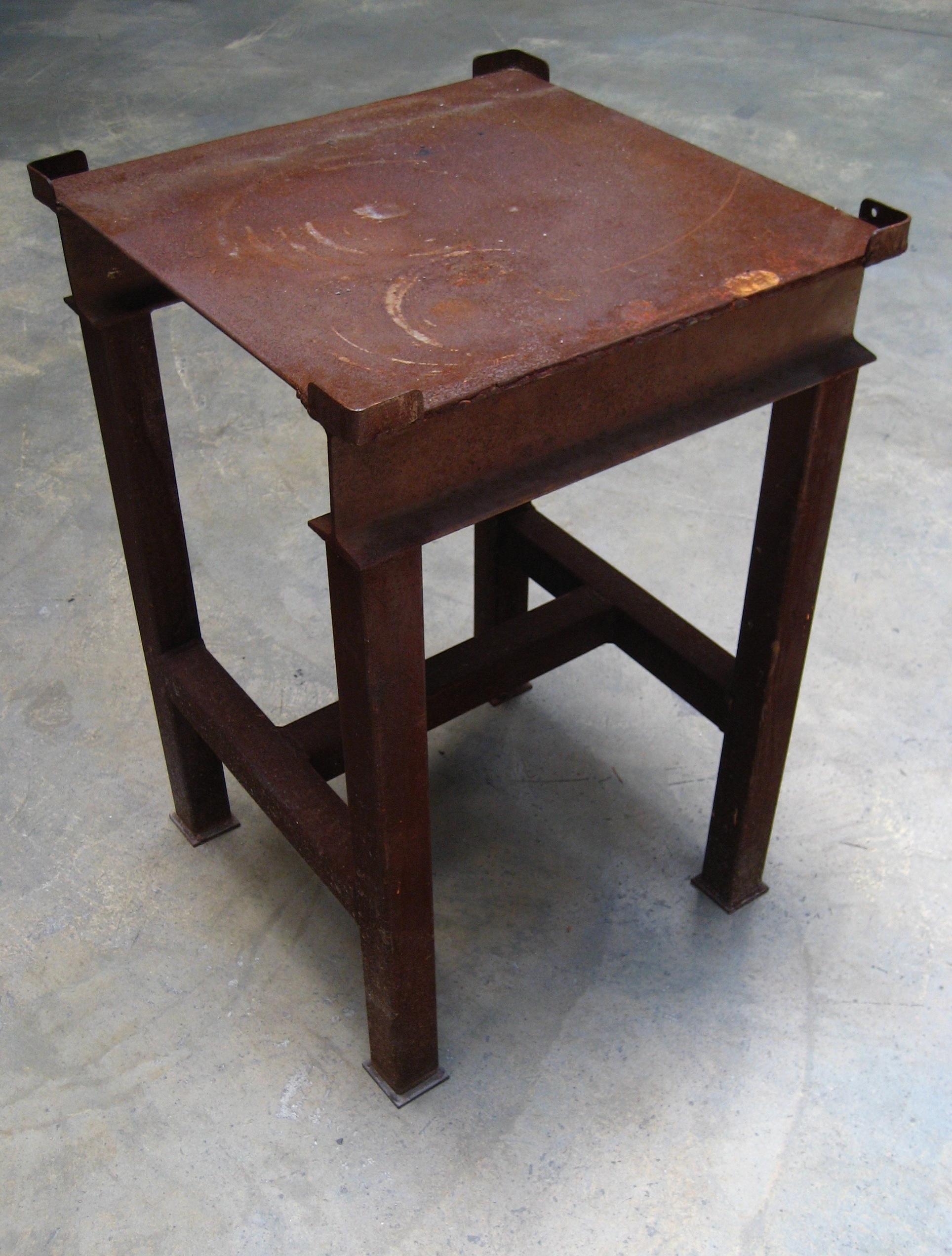 Steel Welding Table (heavy) $40
