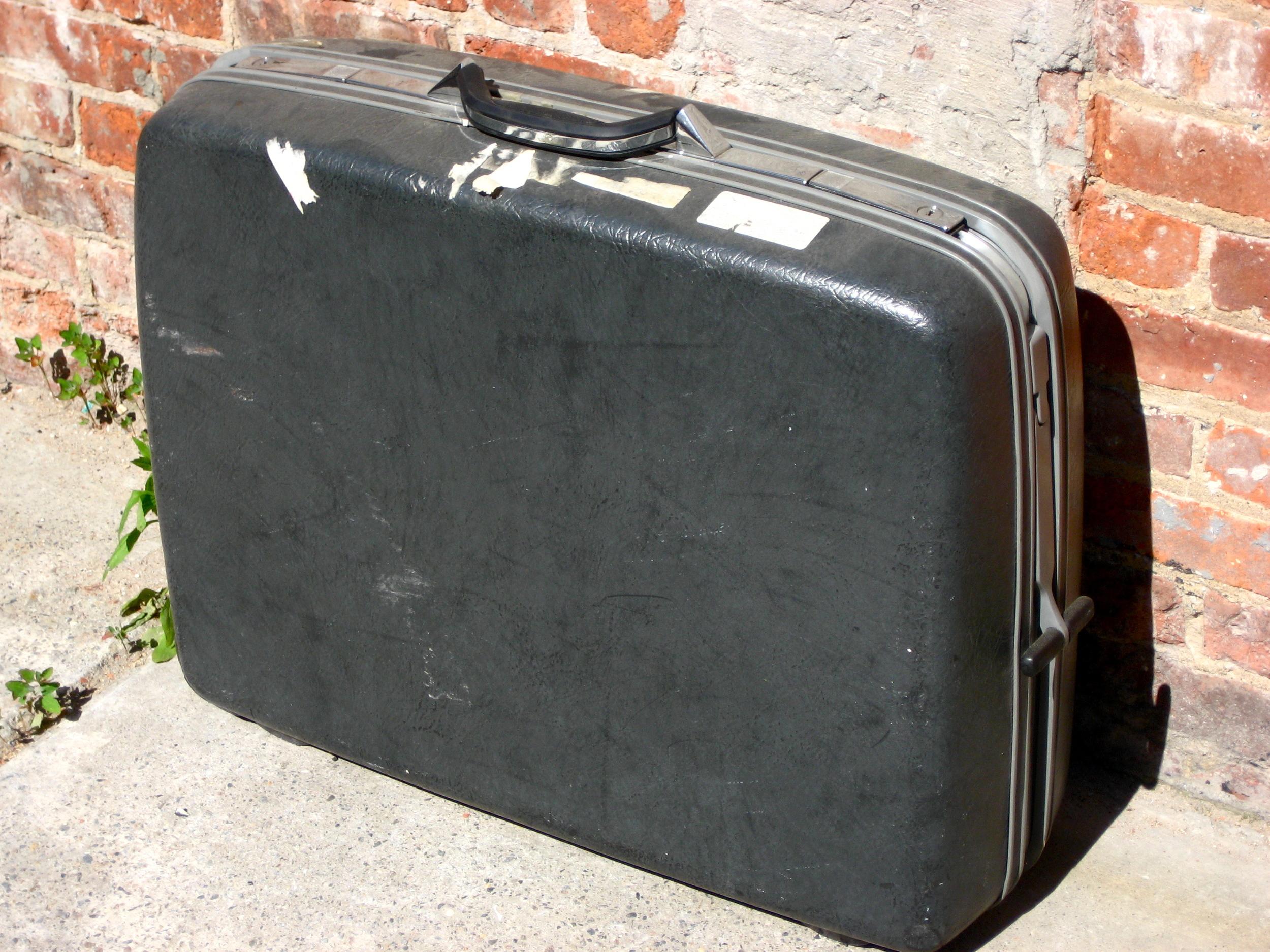 Black Suitcase $30