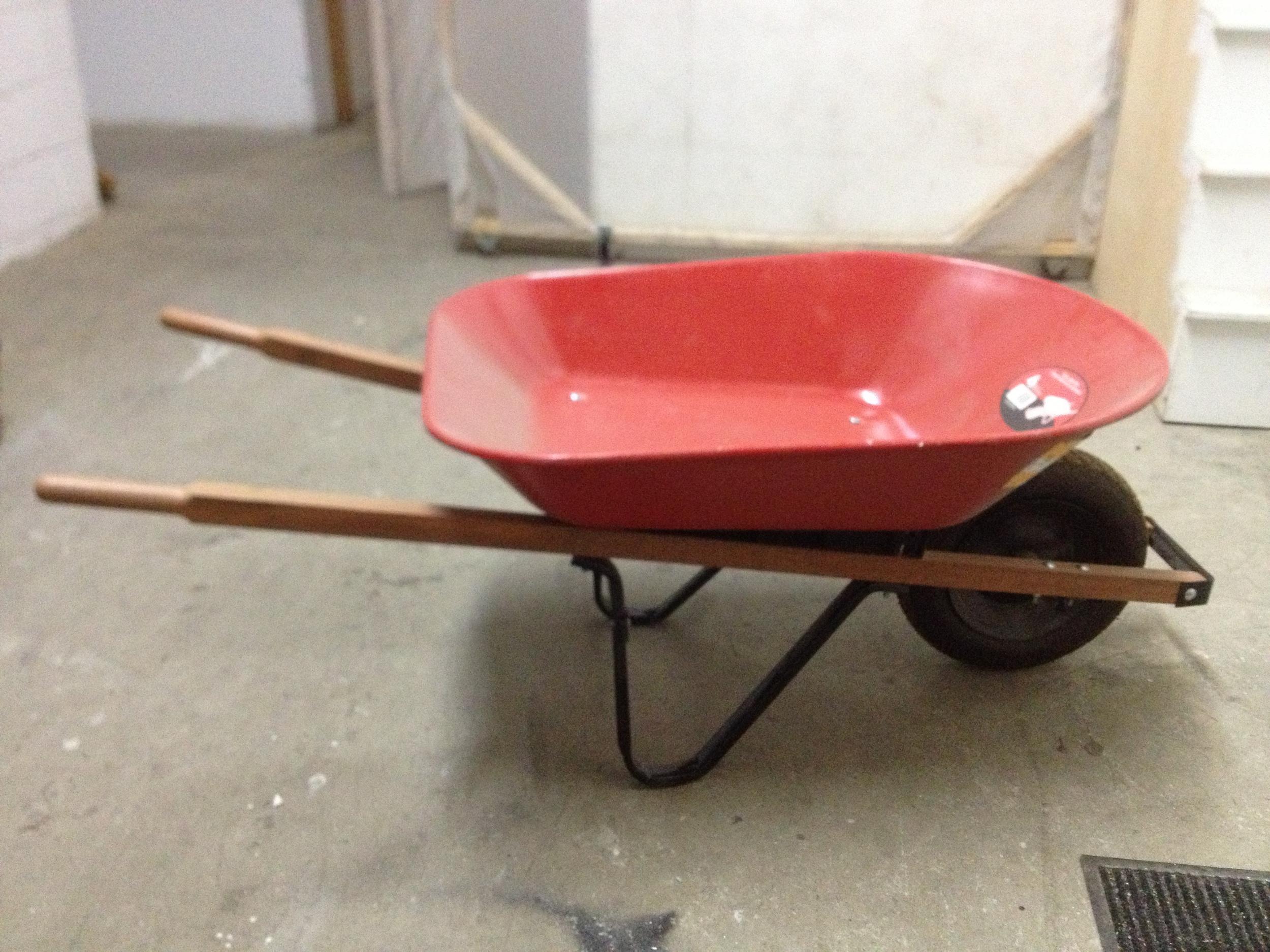 Red Wheelbarrow $60