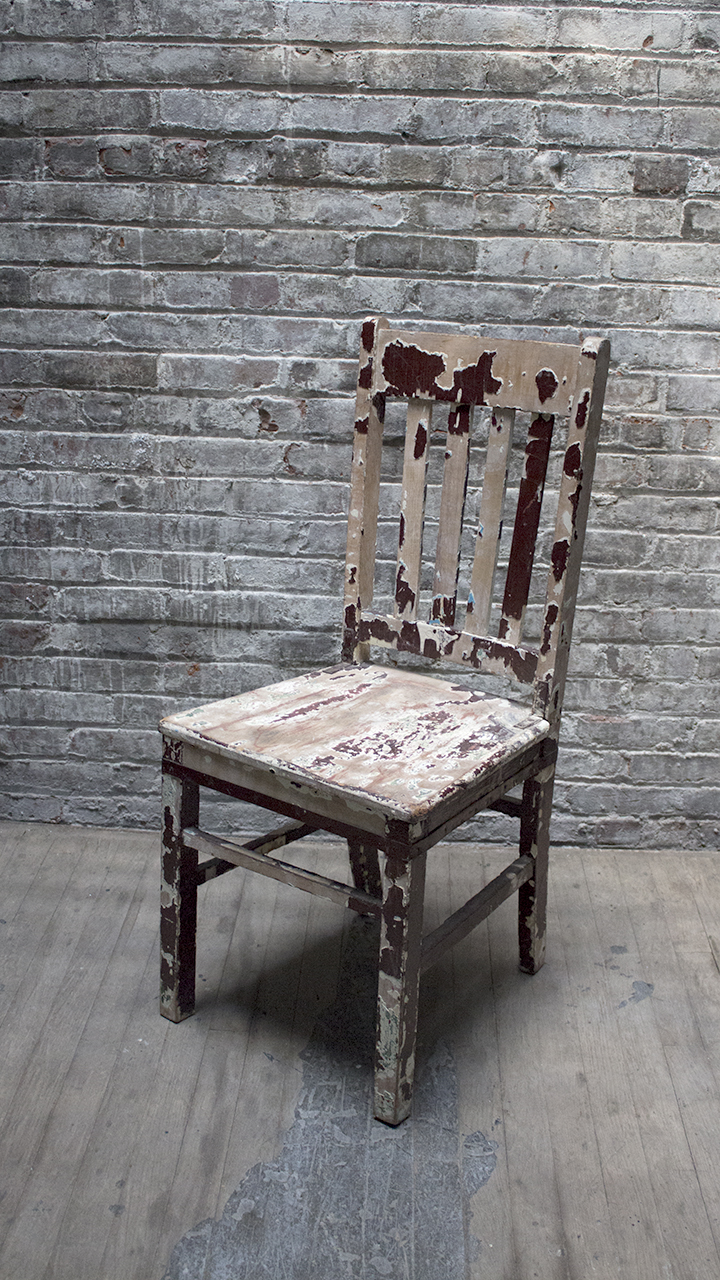 RSS Peeling Paint Chair $36