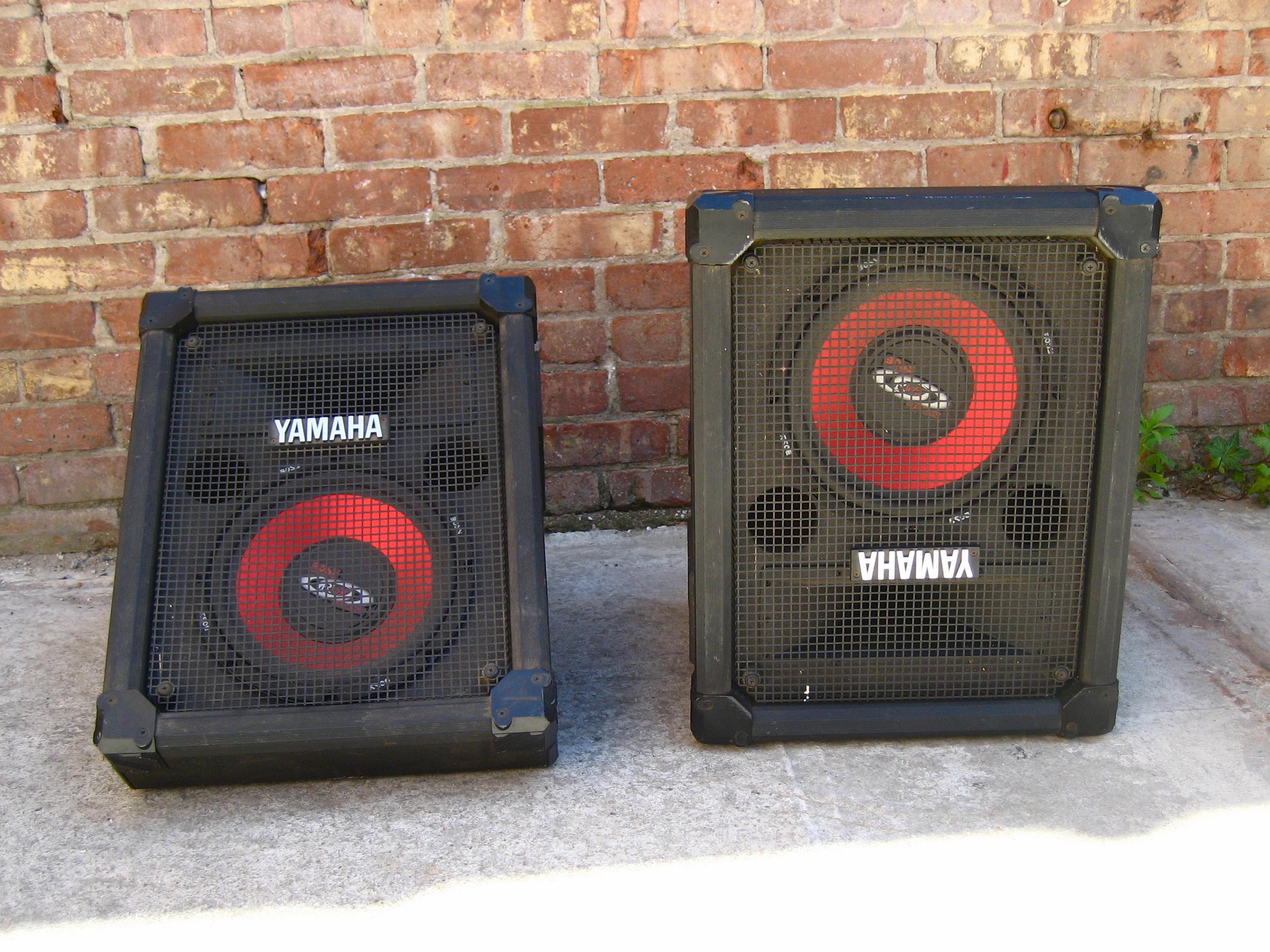 Twin Yamaha Speakers $40/ea